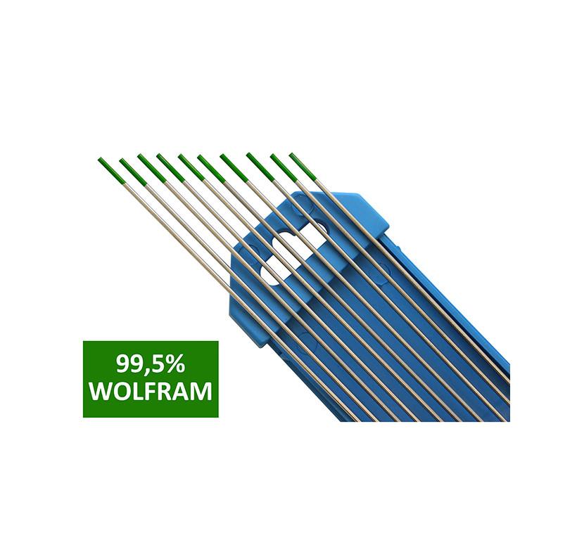 Elektroda nietopliwa TIG WP 3.2x175mm zielona AL