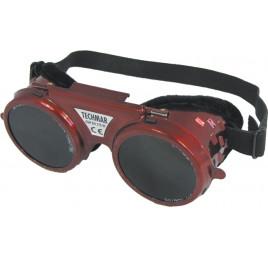 Okulary spawalnicze metalowe z 2 regulacjami
